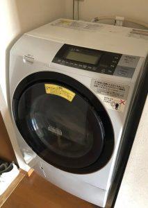 中野区にて ドラム式洗濯機 日立 BD-S8800L 2016年製 を出張買取致しました
