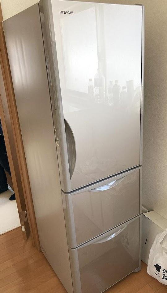 国分寺市にて 冷蔵庫 日立 R-S32JV 2019年製 を出張買取致しました
