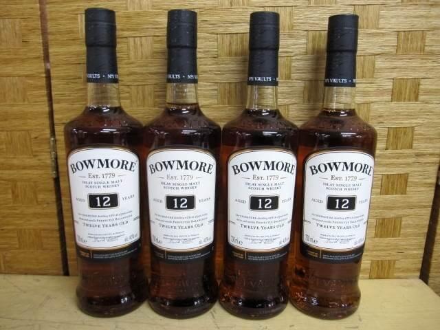 ボウモア 12年 4本セット 40% 700ml スコッチウイスキー