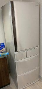 冷蔵庫 パナソニック NR-E412V 2017年製
