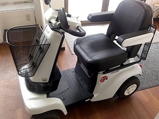 小平市にて セニアカー セリオ 遊歩フジ K504-001361 を店頭買取致しました