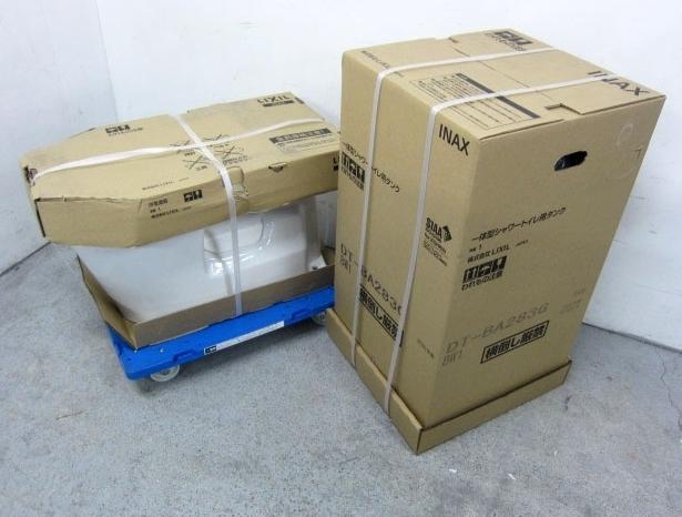 大和市にて リクシル 一体型シャワートイレ DT-BA283G BC-BA20S #BW1を店頭買取致しました