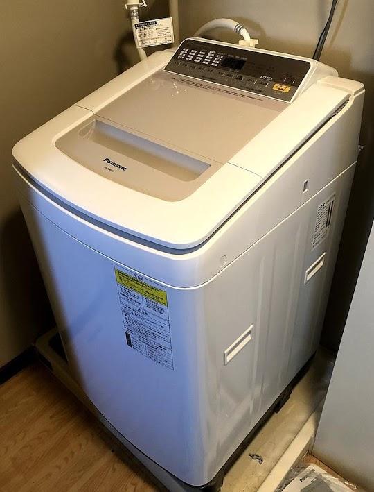 世田谷区にて 洗濯機 パナソニック NA-FD80H6 2019年製 を出張買取致しました