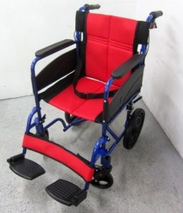 NICE WAY2 ナイスウェイ 折りたたみ車いす 介護・介助用 介助ブレーキ付き