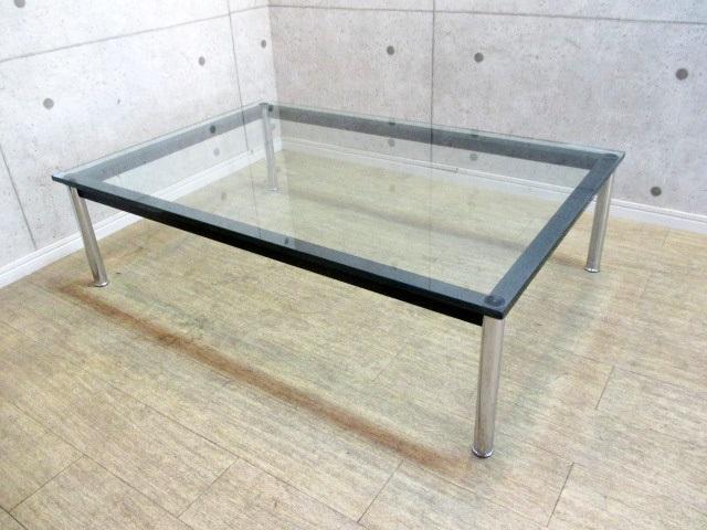カッシーナ・イクスシー ル・コンビジェ ガラステーブル LC10
