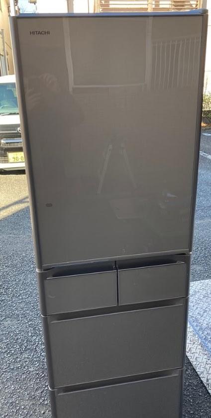立川市にて 冷蔵庫 日立 R-S4200E 2015年製を出張買取致しました