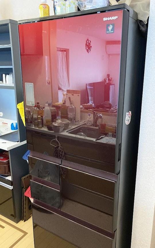 東村山市にて 冷蔵庫 日立 SJ-WX50D 2018年製 を出張買取致しました