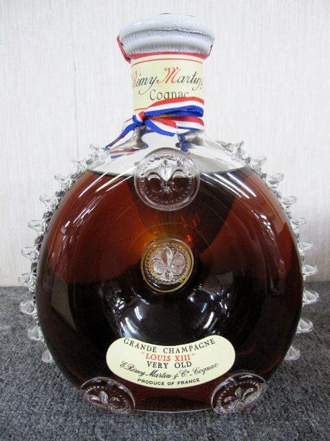 古酒 レミーマルタン ルイ13世 ベリーオールド 八角 替え栓付き 八角箱 書類付き ブランデー コニャック
